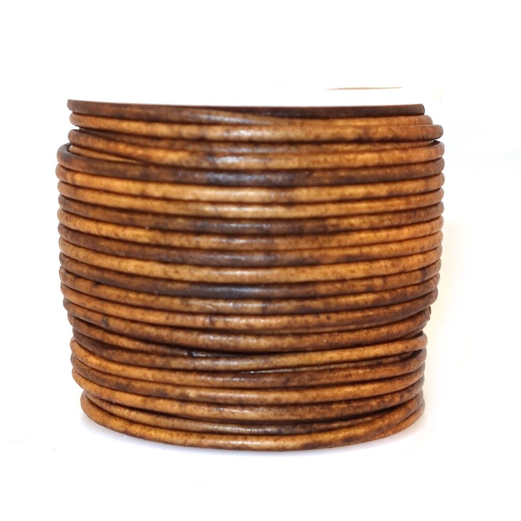 1MM ROUND LEATHER CORDS